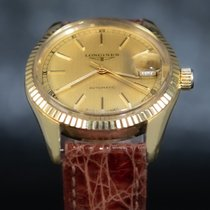 Longines Yellow gold 36mm Automatic Oyster Longines pre-owned