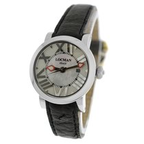Locman Toscano Steel 30mm Mother of pearl Roman numerals United States of America, New York, New York
