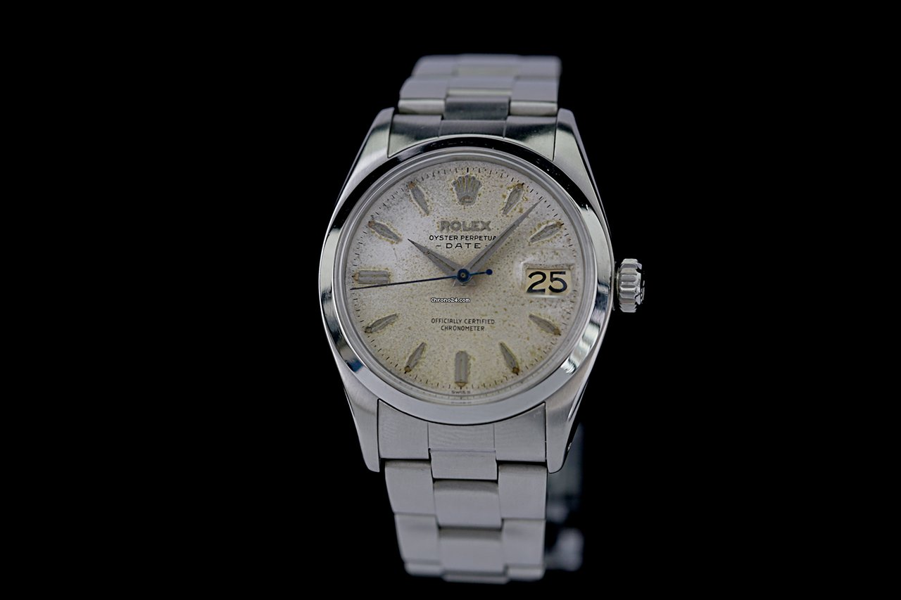 Rolex Oyster Perpetual Date 6534 1957 pre-owned