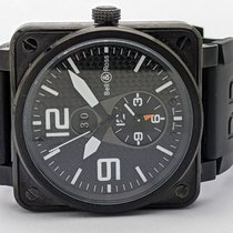 Bell & Ross BR 01-94 Chronographe Steel 45mm Black Arabic numerals United States of America, Texas, El Paso