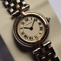 Cartier Panthère tweedehands 24mm Champagne Goud/Staal
