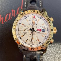 Chopard Mille Miglia Or rose 42mm Blanc Romains