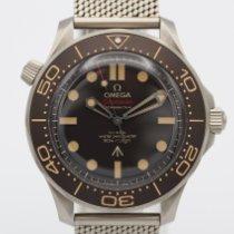 Omega Seamaster Diver 300 M 210.90.42.20.01.001 Muy bueno Titanio 42mm Automático