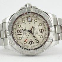 Breitling Superocean Steelfish Steel 44mm Silver Arabic numerals