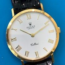 Rolex Cellini Oro amarillo 31mm Blanco