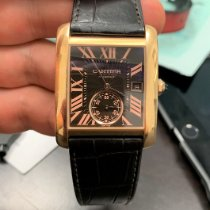 Cartier Tank MC Rose gold Brown Roman numerals United States of America, California, Beverly Hills