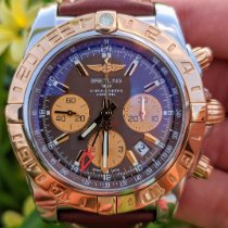 Breitling Chronomat 44 GMT Rose gold 44mm Brown No numerals United States of America, Texas, Frisco