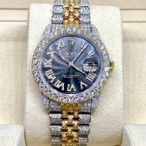 Rolex Datejust Золото/Cталь 36mm Cерый