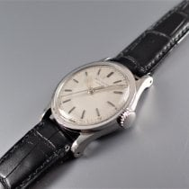 Patek Philippe Steel Manual winding Silver pre-owned Calatrava