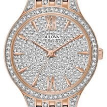 Bulova Crystal Steel 32mm No numerals United States of America, New York, Bellmore