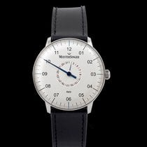 Meistersinger Neo Plus Steel 40mm Silver