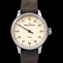 Meistersinger N° 01 new 2021 Automatic Watch with original box and original papers AM3303_SV02