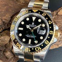 Rolex GMT-Master II Or/Acier 40mm Noir