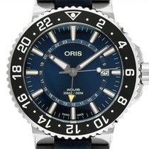 Oris Aquis GMT Date Stahl 43.5mm Blau Deutschland, Stuttgart