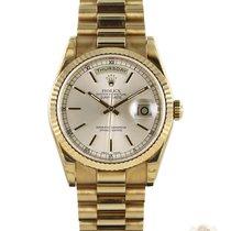 Rolex Day-Date 36 nouveau 2004 Remontage automatique Montre avec coffret d'origine et papiers d'origine 118238