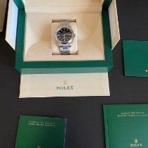 Rolex Oyster Perpetual 36 Acier 36mm Noir Sans chiffres France, Longlaville