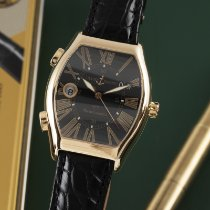 Ulysse Nardin Yellow gold Automatic Black 43mm pre-owned Michelangelo