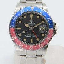 Rolex GMT-Master Stahl 40mm Schwarz Keine Ziffern Schweiz, Lausanne