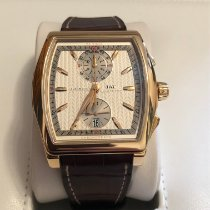 IWC Da Vinci Chronograph Rotgold 43.1mm Silber
