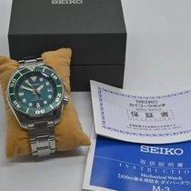 Seiko Prospex nouveau Remontage automatique Montre avec coffret d'origine et papiers d'origine SZSC004