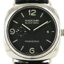 Panerai Radiomir Black Seal 3 Days Automatic Acero 45mm Negro Arábigos