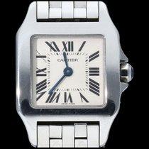 Cartier Santos Demoiselle Acier 20mm Blanc Romains