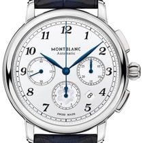Montblanc Star Steel 42mm White Arabic numerals