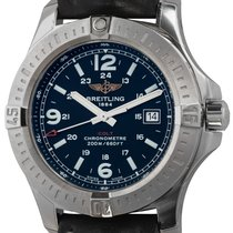 Breitling Colt Quartz Steel 44mm Black