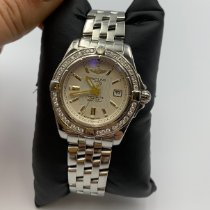 Breitling Cockpit Lady Steel 32mm White Roman numerals