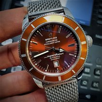 Breitling Superocean Heritage 46 Steel 46mm Brown No numerals