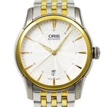 Oris Artelier Date Gold/Steel 40mm Silver United Kingdom, London