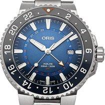 Oris Steel 43.5mm Automatic 01 798 7754 4185-Set MB new