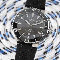 Oris Aquis Titanium Date Titanium 43.5mm Silver