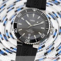 Oris Aquis Titanium Date Titane 43.5mm Argent