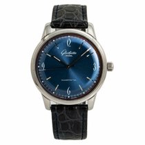 Glashütte Original Sixties Steel 42mm Blue No numerals United States of America, New York, New York