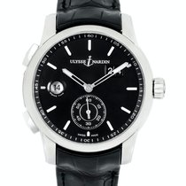Ulysse Nardin Dual Time new Automatic Watch with original box and original papers 3343-126/92