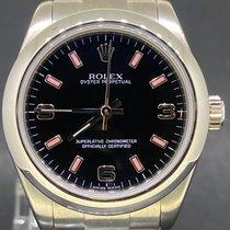 Rolex Oyster Perpetual 31 Acier 31mm Noir Arabes