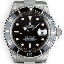 Rolex Submariner Date Steel 40mm Black No numerals Singapore, Singapore