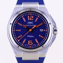 IWC Ingenieur Double Chronograph Titanium Acero 46mm Azul Sin cifras