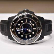 Chanel J12 occasion 42mm Noir Date Caoutchouc
