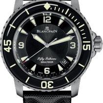 Blancpain Fifty Fathoms nuevo 2020 Automático Reloj con estuche y documentos originales 5015-12B30-B52B