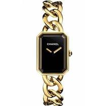 Chanel Première Or jaune Noir Sans chiffres
