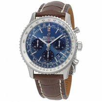 Breitling Navitimer 1 B01 Chronograph 43 AB0121211C1P4 New Steel 43mm Automatic