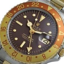 롤렉스 GMT-마스터 스틸 40mm 갈색