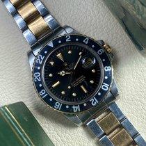 Rolex GMT-Master Goud/Staal 40mm Zwart Geen cijfers Nederland, Heerenveen