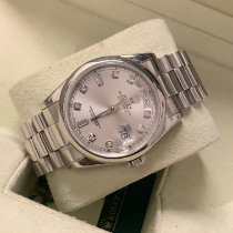 Rolex Platine Remontage automatique Gris 36mm occasion Day-Date 36