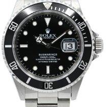 Rolex Submariner Date Acier 40mm Noir Sans chiffres France, Lyon