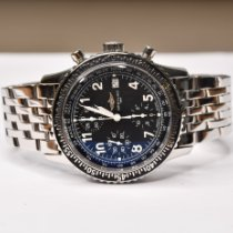 Breitling Navitimer pre-owned 41.5mm Black Chronograph Date Buckle