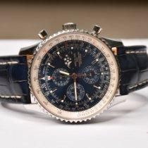 Breitling gebraucht 46mm Blau Saphirglas