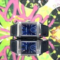 Jaeger-LeCoultre Reverso Duoface Acier 47mm Bleu Sans chiffres France, Paris